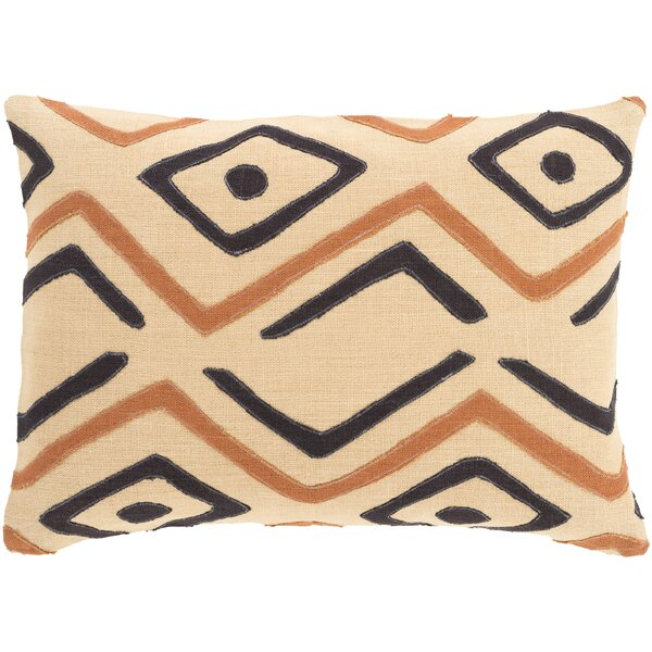 Anders 100% Linen Lumbar Pillow Cover by Bloomsbury Market